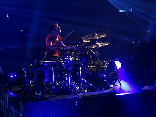 Dominic James Howard - Muse live 2012