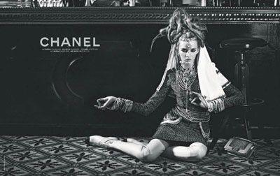 Daria Strokous for Chanel Paris-Bombay