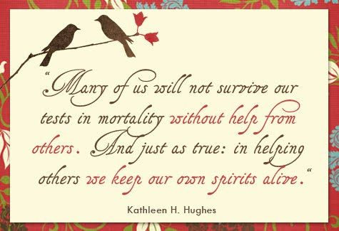 Kathleen Huges Quote