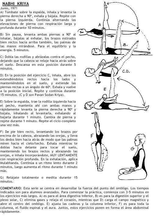 Kundalini Yoga: La semana en kriyas y meditaciones