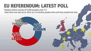 Latest EU poll and poll of polls