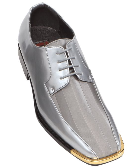 these bolano footwear mens striped satin dress shoes
