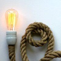 rope light + plug