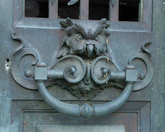 one of the first things I'm buying for my next house is a cool door knocker like this
