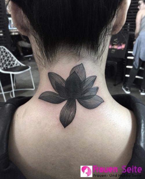 Volle 65 Tlg Perfekte Tattoo Typen Perfekte Tattoo Typen Volle Neck Tattoos Women Beautiful Tattoos For Women Back Of Neck Tattoo