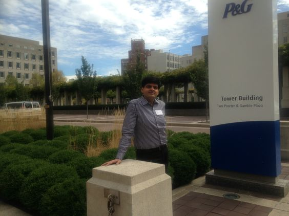 Very first photo @ P&G Plaza