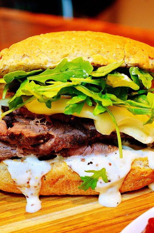 Roast Beef Sandwich With *Horseradish Aioli* | Food and Drinks Made ...