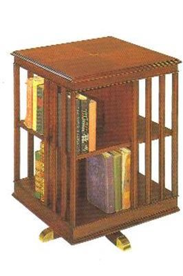 Revolving Bookcase End Table Wouldn T Something Like This Be Great For Our Reading Circle