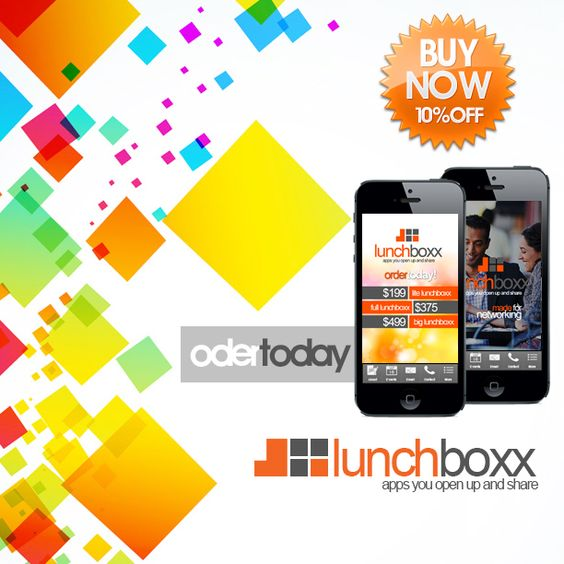 Any business or organization needs a Lunchboxx.  Order yours today! www.thelunchboxx.com