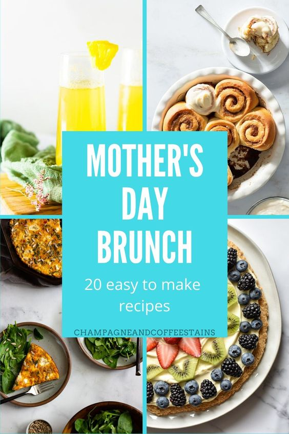 20 Easy Mother's Day Brunch Recipes