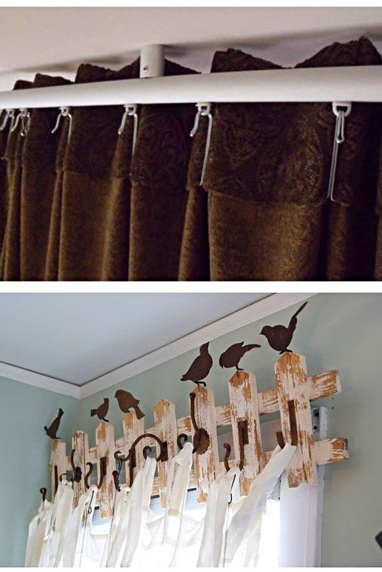 How To Hang Curtains Using Command Hooks Curtains Without Holes