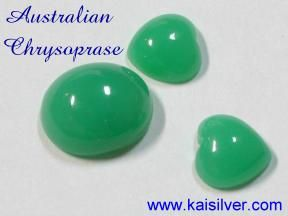 Chrysoprase Gemstones, Information About Australian Chrysoprase