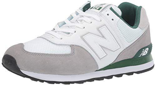 New Balance Men's 574v2 Sneaker, Marblehead/Team Forest ...