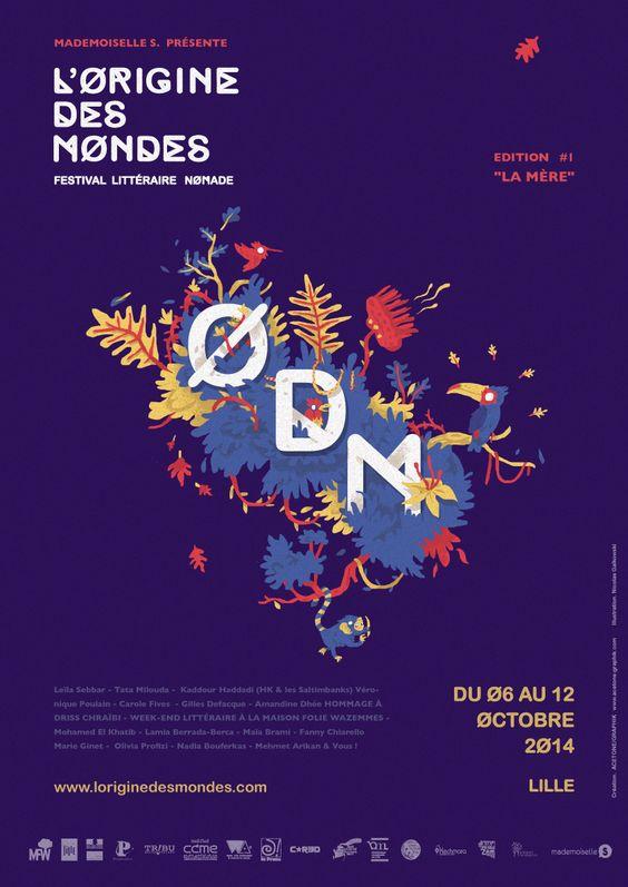 L'ORIGINE DES MONDES # Festival Littéraire # Edition I #  LILLE