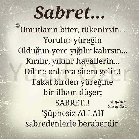 Yazar Yusuf Ozer Instagram Photos And Videos Ilham Verici Sozler Guzel Soz Ilham Veren Sozler
