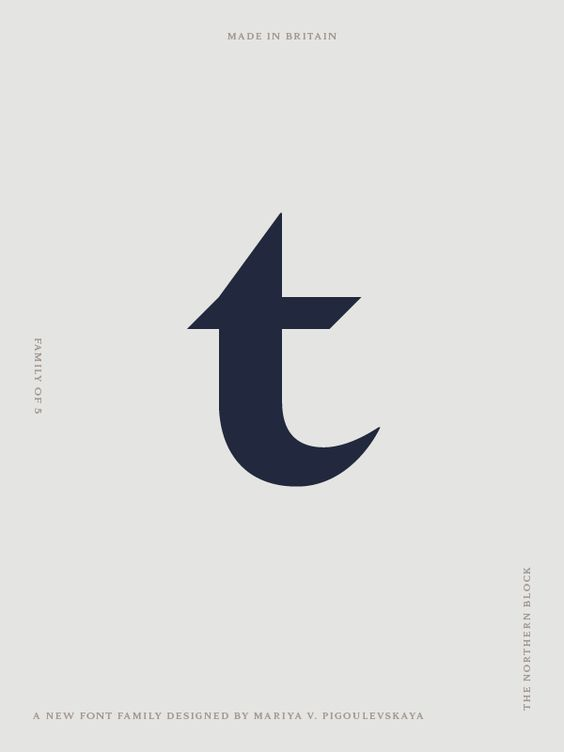 Tautz - Font Family on Typography Served