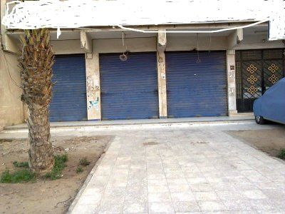 محلات للإيجار قرب الحصري بمساحات  مختلفه