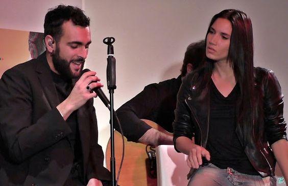 """♫  ♪Blog India Martinez  ♪ ♫: Marco Mengoni e India Martínez """"Antes de que caiga..."""