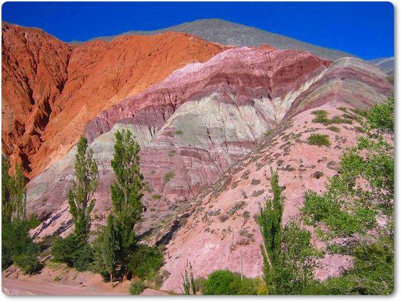 Cerro de los siete colores - Jujuy