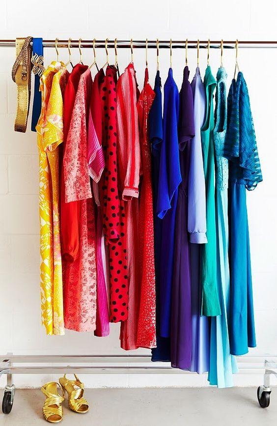 Gold Hangers DIY   Closet DIY POPSUGAR   Home