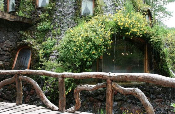 go here. montana magica lodge in huilo huilo chile