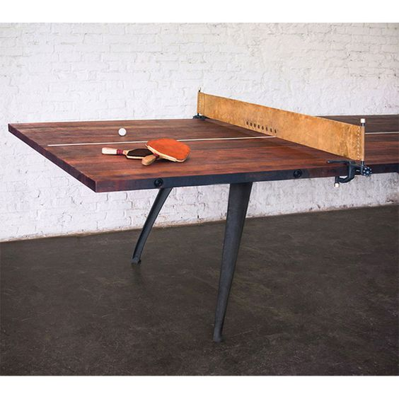 Worldu0027s Most Beautiful Ping Pong Table | Ping Pong Table, Tennis And Game  Rooms