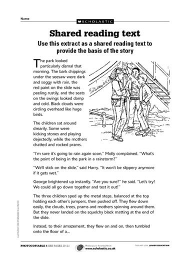 Writing adventure story Ks2 of short Here is a 3 week unit