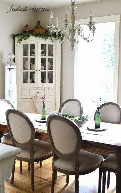 Christmas 2013 ▇  #Vintage #Home #Decor  via - Christina Khandan  on IrvineHomeBlog - Irvine, California ༺ ℭƘ ༻
