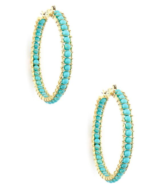 Beaded Hoop Earrings: Beading Tutes, Fashion Styles, Dream Closet, Hoop Earrings, Diy Jewelry, Inspirations Earrings, Beaded Earrings, Bead Nancy