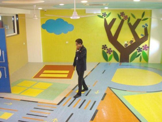 Edify school vellore (Picture 2 of 3). Vinyl customised design floors