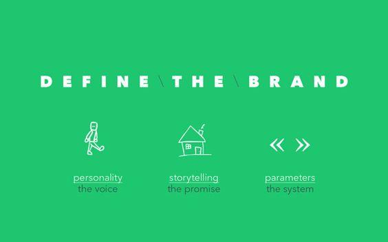 DEFINE BRANDING RULES ! NO LOGO BRANDING by Esteban Pérez-Hemminger, via Behance
