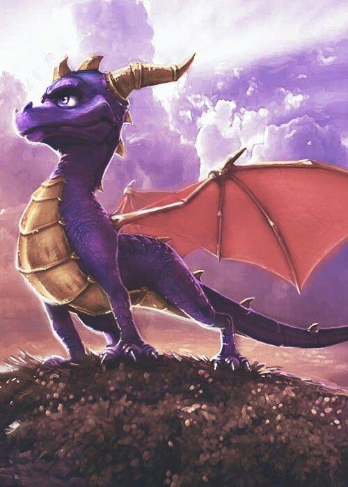 Spyro concept art for the most recent series (NOT that crap Skylanders)