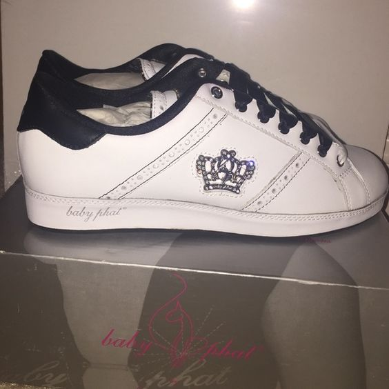 Babyphat Sneakers 8.5 Brand new... but very old school baby phat black and white…