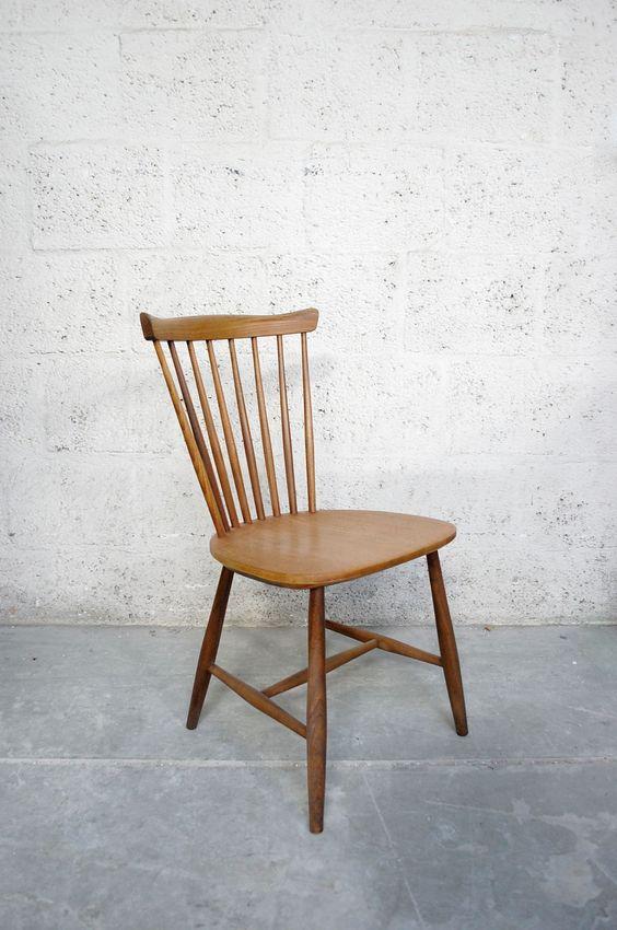 Drie spijlen stoelen van yngve ekstrom voor nesto pastoe furniture pinterest van - Am pm stoelen ...