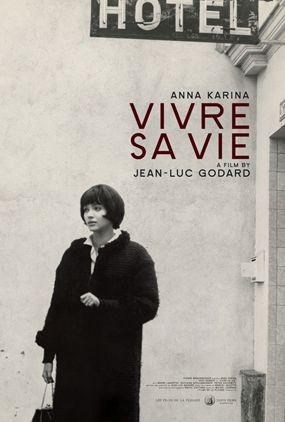 Image result for vivre sa vie poster