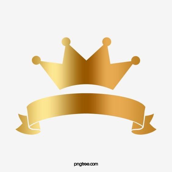 تاج ذهبي التاج الإمبراطوري ذهبي محكم Png وملف Psd للتحميل مجانا Crown Png Ribbon Png Golden Crown