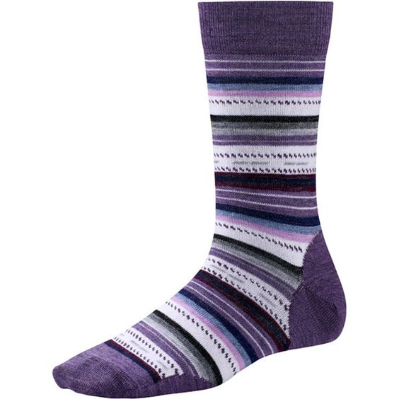 A SmartWool favorite, the Margarita takes on a south of the border flavor in its authentic festive colors. The non-cushioned crew sock can be worn year-round. $20.00 at shoemill.com
