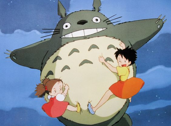 totoro with mei and satsuki - Google Search