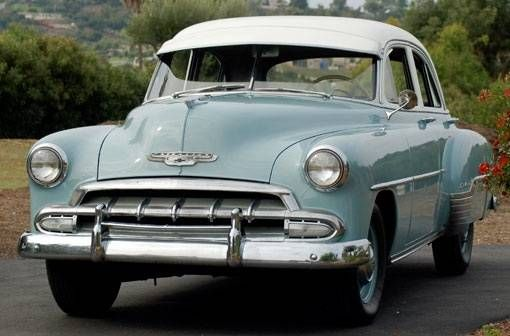 1952 chevrolet 4 door sedan my dad 39 s first new car it for 1952 chevy 2 door sedan