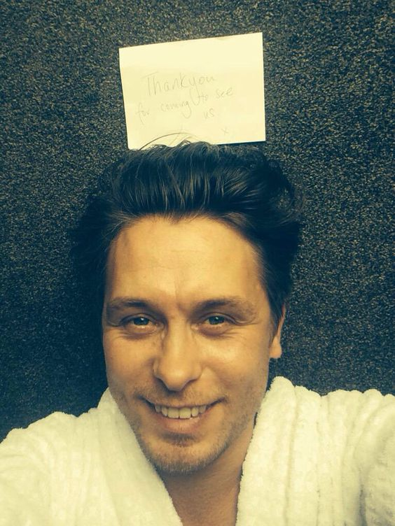 150627 @OfficialMarkO: To everyone who came........ Love M.O X #thingsonmarkshead