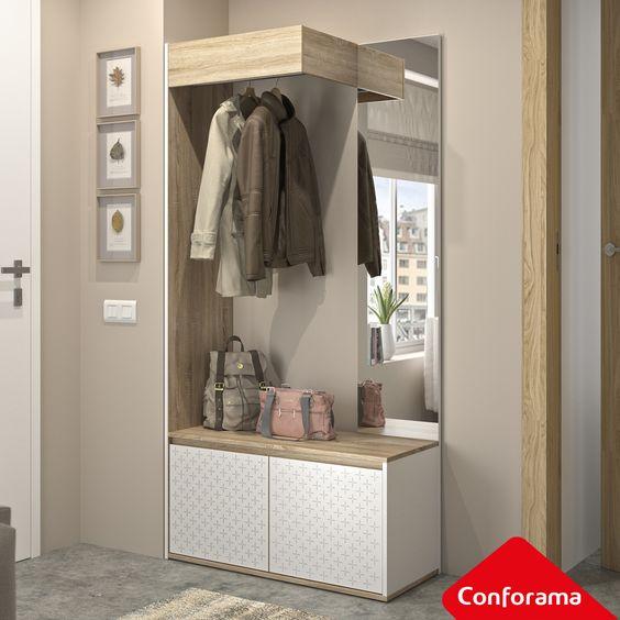 Encuentra El Recibidor Perfecto En Conforama Muebles Entrada Recibidor Muebles Para Vestibulo Diseno De Armario Para Dormitorio