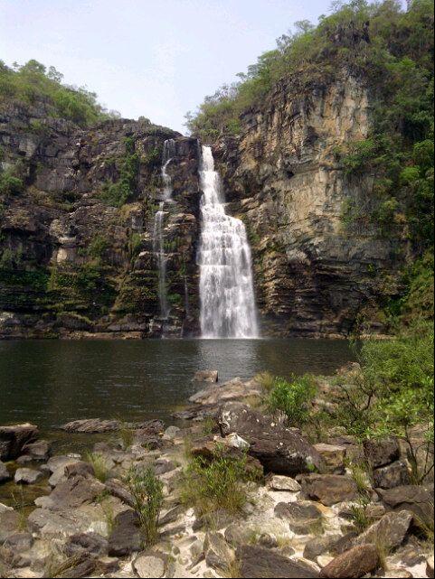 Parque Nacional da Chapada dos Veadeiros em Alto Paraíso de Goiás, GO