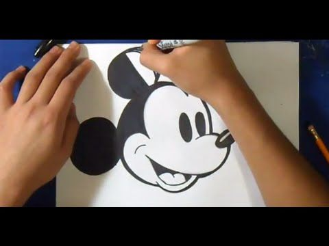 Comment Dessiner Minnie Dessin Facile Youtube Atelier