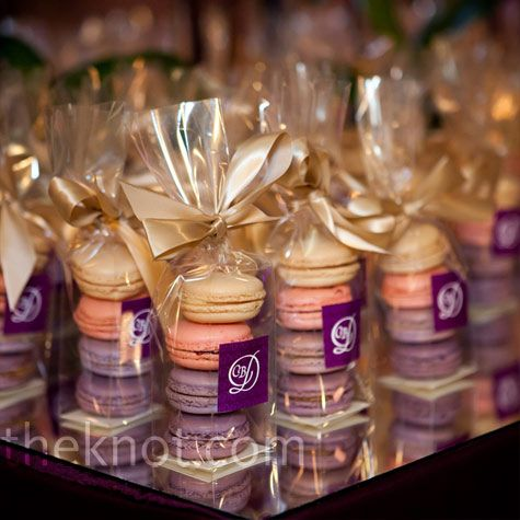DIY Easy Wedding Favors under 1 | Macaroons wedding ...