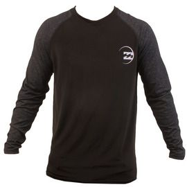 Iconic Raglan Long Sleeve Rashguard | Billabong US, blk, lg...Ryan