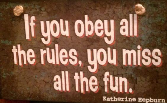 mwahaha #fun #rules #katherinehepburn