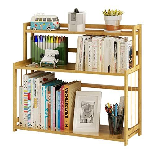 Bookcases Shelves Small Living Room Bamboo Shelf Bedroom Display Stand Cosmetics Storage Rack Kitchen Finishing R Simple Bookcase Mini Bookshelf Small Bookcase