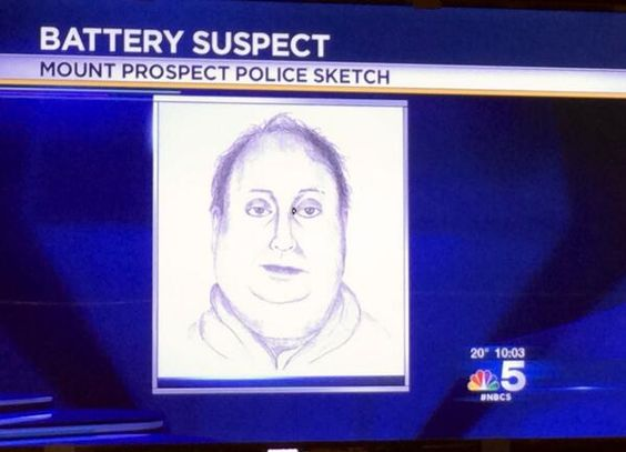 The 21 Worst Police Sketches Of All Time Police Sketches All