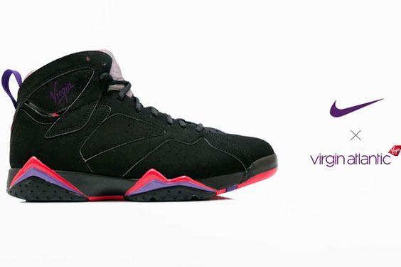Nike x Virgin Airlines