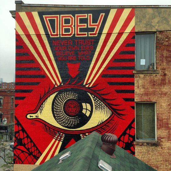 Shepard Fairey pinta uma série de novos murais em Toronto, Canadá